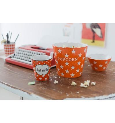Happy Stars Popcorn naranja
