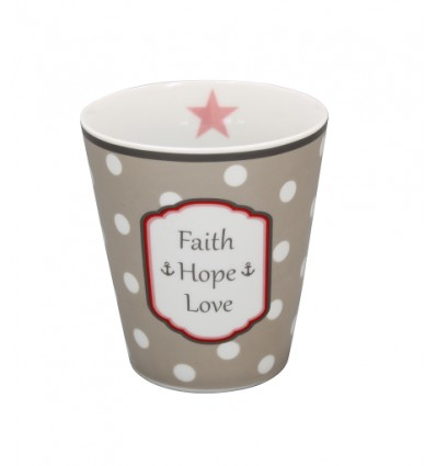 Happy Mug Faith, hope, love