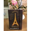 Libreta Paris, Je t´aime