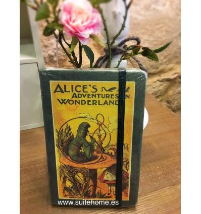 Libreta Alice in wonderland