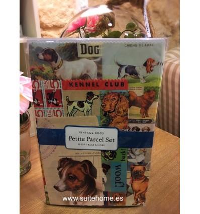 Sobres regalo Vintage Dogs
