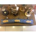 Cortavientos rayas azules