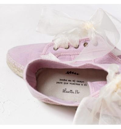 Zapatillas de la novia