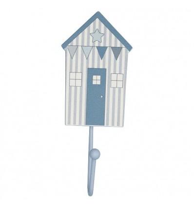 Colgador casita Ellison azul